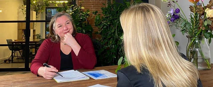 Coachgesprek bij Coachopleiding Foundation Level